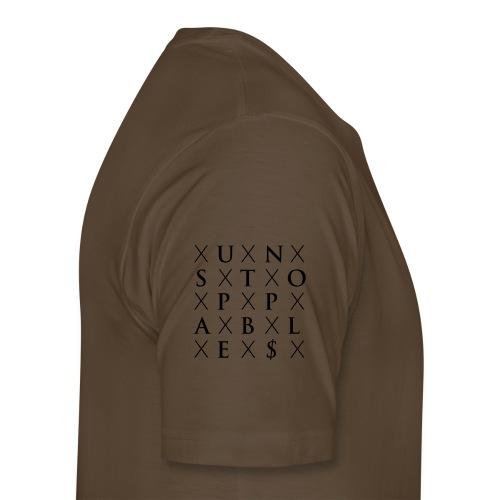 Millionär ohne Ausbildung Hoodie - Männer Premium T-Shirt