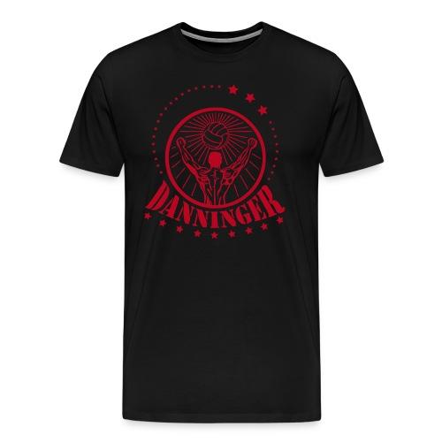 Danninger Logo rot - Männer Premium T-Shirt