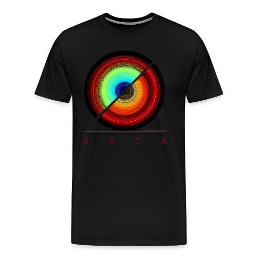 Gaia - Asteroid orbits - Men's Premium T-Shirt