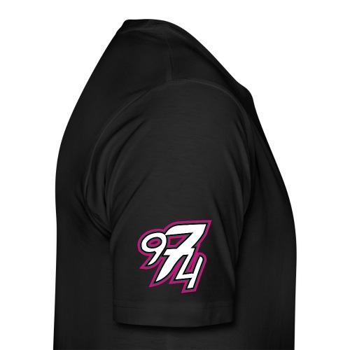 974 color fushia.png - T-shirt Premium Homme