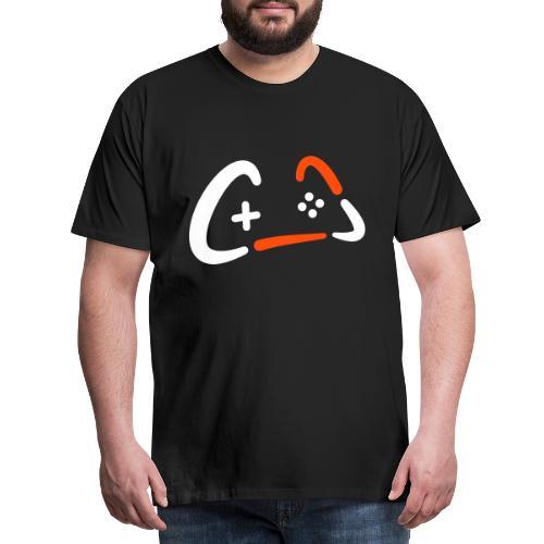 Crys Gamepad Logo - Männer Premium T-Shirt
