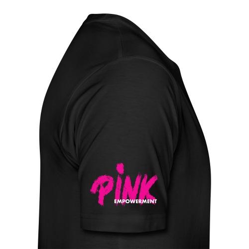 PINK Empowerment/ pink ribbon - Männer Premium T-Shirt