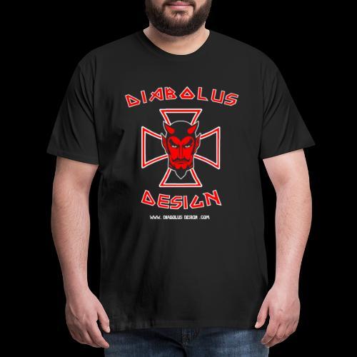 Diabolus Design Cross - Men's Premium T-Shirt