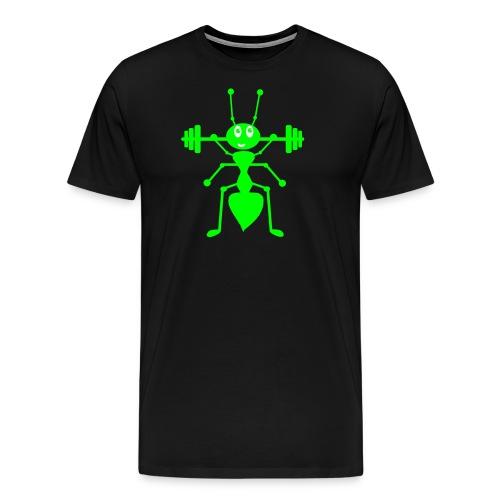 Ameise_schwarz_1 - Männer Premium T-Shirt