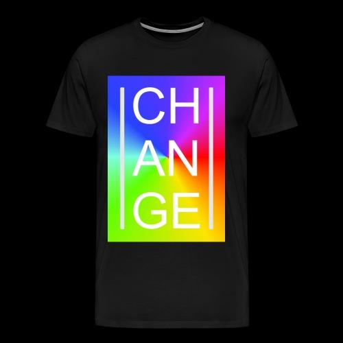 CHANGE Rainbow - Männer Premium T-Shirt