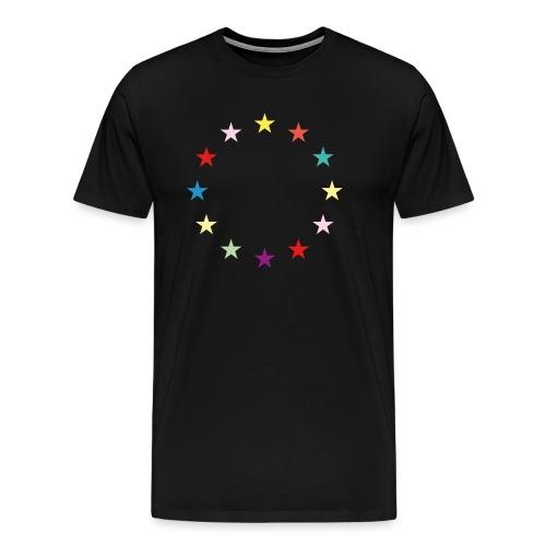 Sterne EU Jusos 2019 - Männer Premium T-Shirt