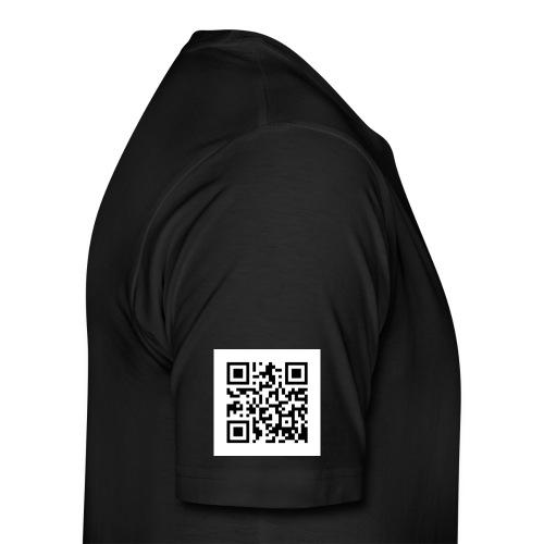 knuppo qr code - T-shirt Premium Homme