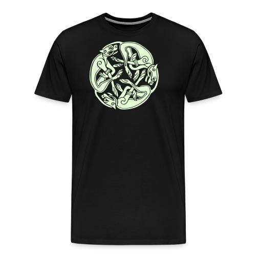 3 Hunde - Männer Premium T-Shirt