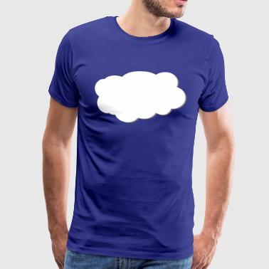 Skyen - Premium T-skjorte for menn