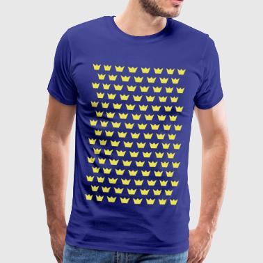 Många kronor - Premium-T-shirt herr