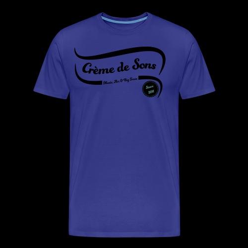 Logo Creme de Sons Origin blk24 - T-shirt Premium Homme