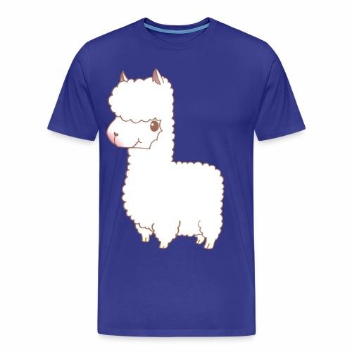 Ina's Alpaka - Männer Premium T-Shirt