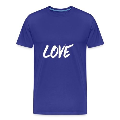 Love - Premium-T-shirt herr