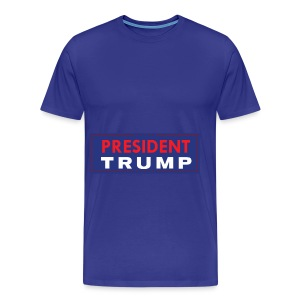 President Trump - Men's Premium T-Shirt