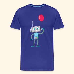 Cute Robot Kids Tees - Men's Premium T-Shirt