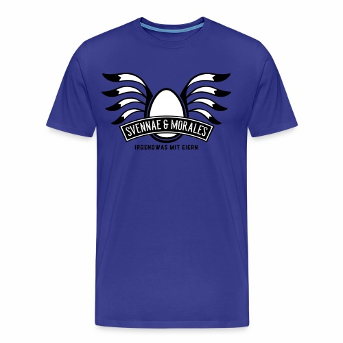 Svennae und Morales - Irgendwas mit Eiern - Männer Premium T-Shirt