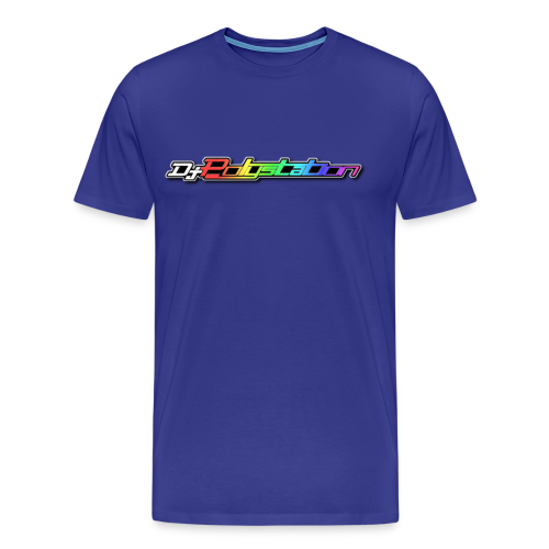 DjPolystation Scritta - Maglietta Premium da uomo