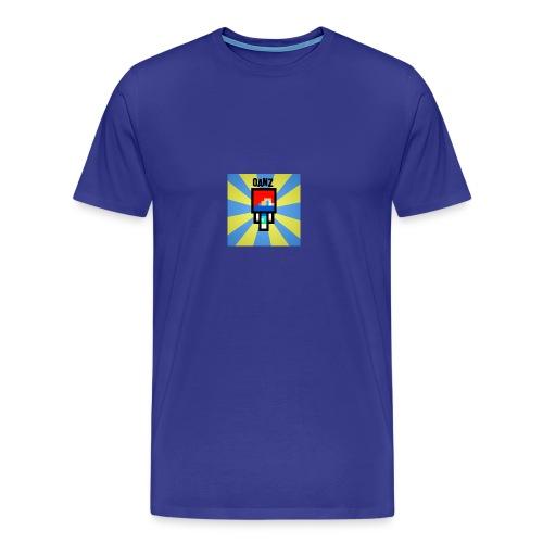 Qanz Gaming Caps - Premium T-skjorte for menn