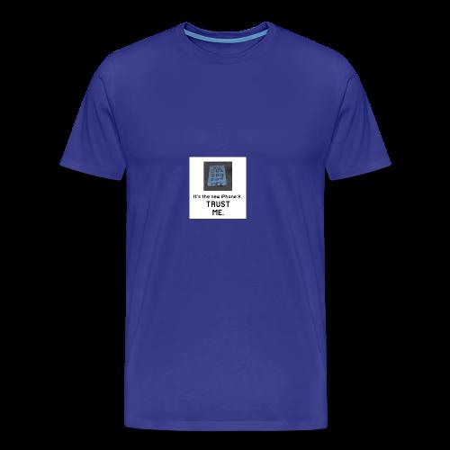Paper iPhone X - Men's Premium T-Shirt