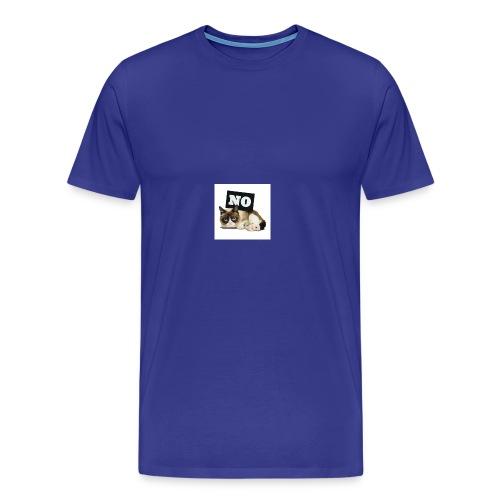 Crumpy Cat - Männer Premium T-Shirt