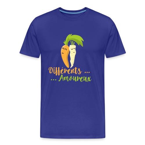 Différents et Amoureux - T-shirt Premium Homme