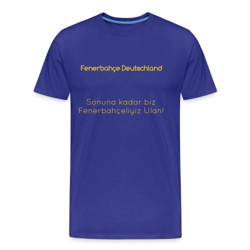 Fenerbahçe Deutschland - Männer Premium T-Shirt