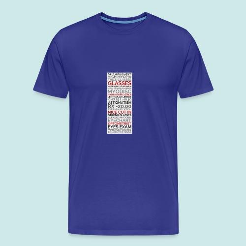Myopia Poster 2 - T-shirt Premium Homme