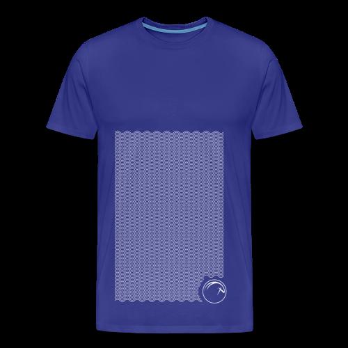 Ocean Oryx verticale Bianco - Maglietta Premium da uomo
