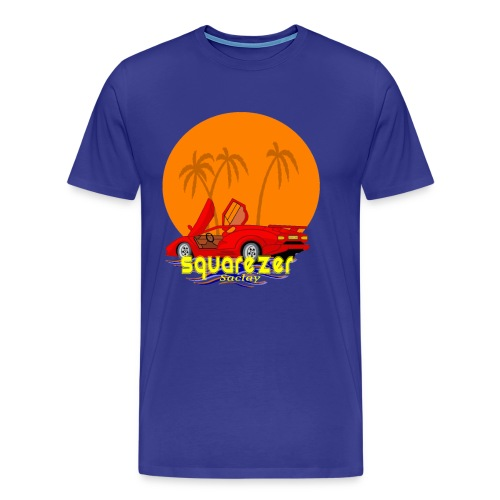 SaclayDrift - T-shirt Premium Homme