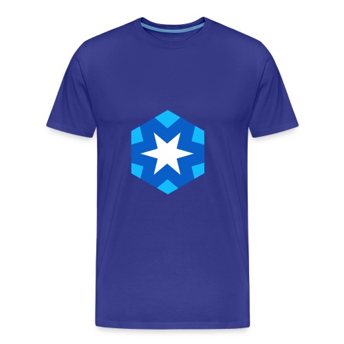 Logo #JustRightSnow - Maglietta Premium da uomo