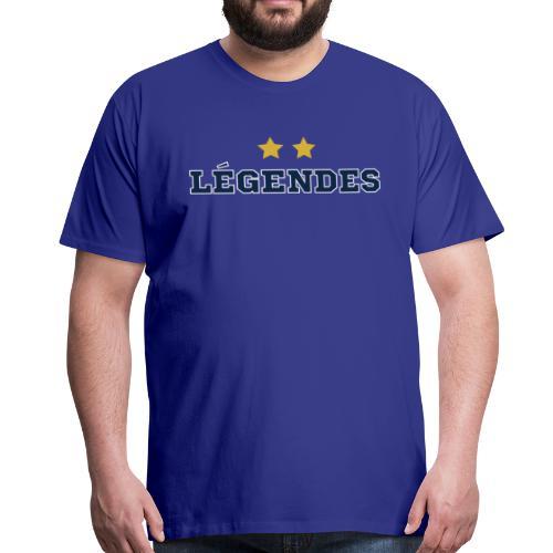 LEGENDES 2 ETOILES - T-shirt Premium Homme