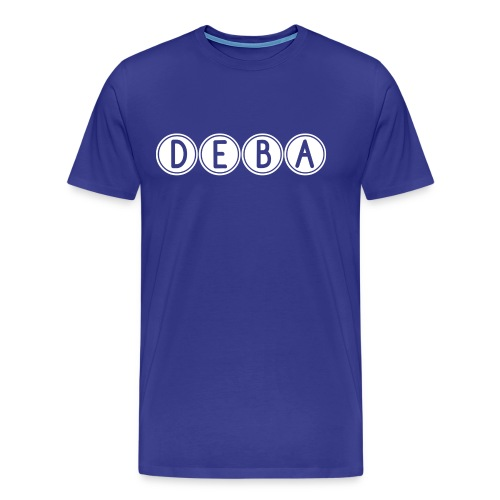 DEBA LOGO - Mannen Premium T-shirt
