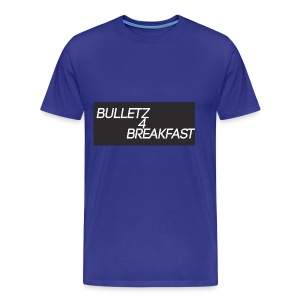 bulletz4breakfast_t-shirt - Men's Premium T-Shirt
