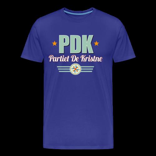 PDK på marine - Premium T-skjorte for menn