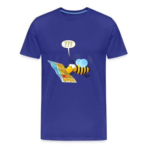 L'ape che non sa dove andare - Maglietta Premium da uomo
