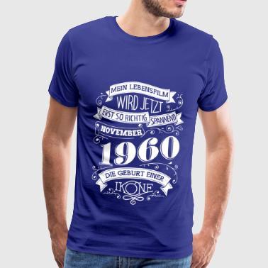 November 1960 Die Geburt einer Ikone - Männer Premium T-Shirt