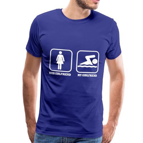 GIRLFRIEND - Maglietta Premium da uomo