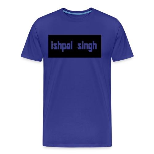 gewoon ishpal man - Mannen Premium T-shirt