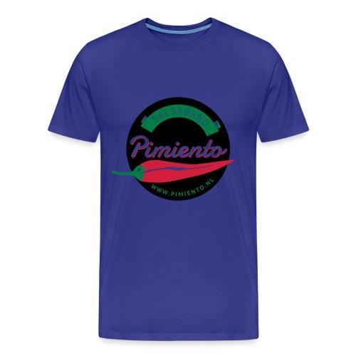 Salsaband Pimiento T-shirt Zwart - Mannen Premium T-shirt