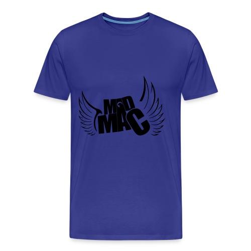 MADMAC Flügel Logo - Männer Premium T-Shirt