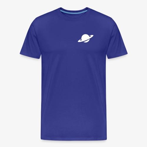 NearFuture Logo Weiss - Männer Premium T-Shirt