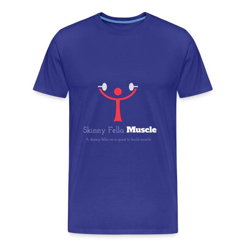 Logo T-Shirt - Navy - Men's Premium T-Shirt
