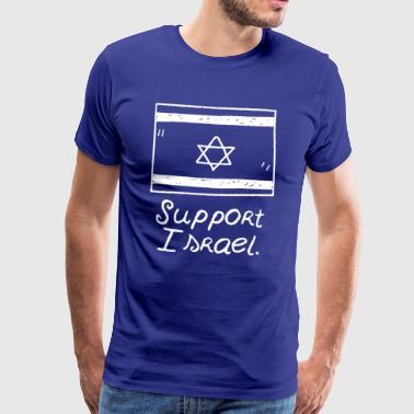 Support Israel - Geschenk Jerusalem Teheran Idee - Männer Premium T-Shirt