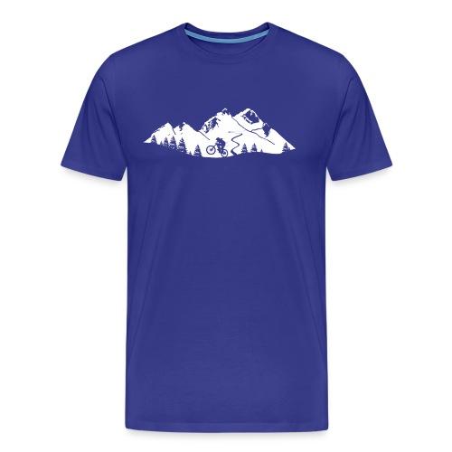 Mountainbike Trail - Männer Premium T-Shirt