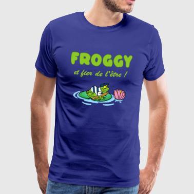 La grenouille - T-shirt Premium Homme