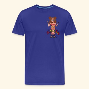 FREE THE B**Bs PDw - Mannen Premium T-shirt