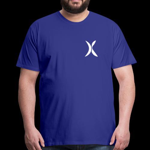Extra FITNESS Logo weiß - Männer Premium T-Shirt