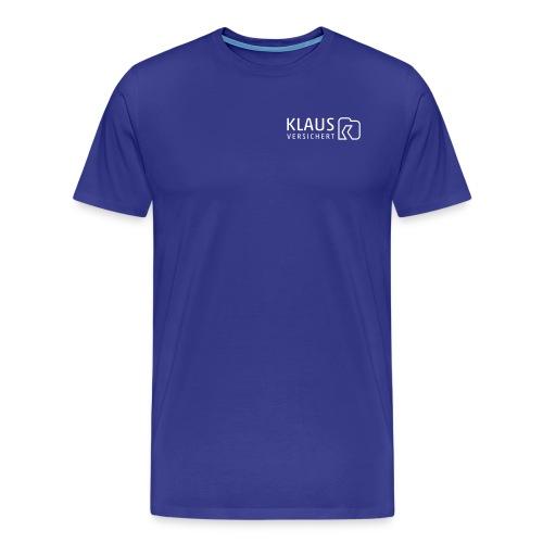 Klaus versichert - Männer Premium T-Shirt