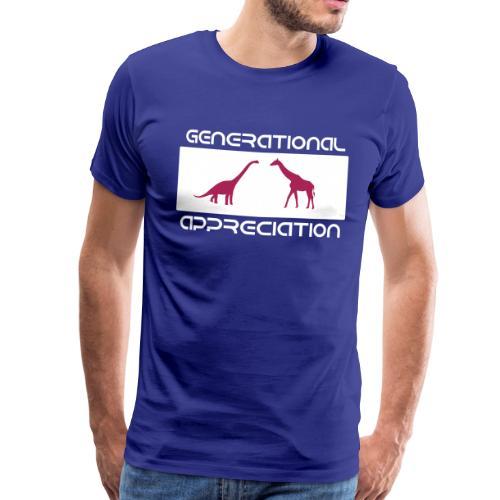 Generational Appreciation - Maglietta Premium da uomo