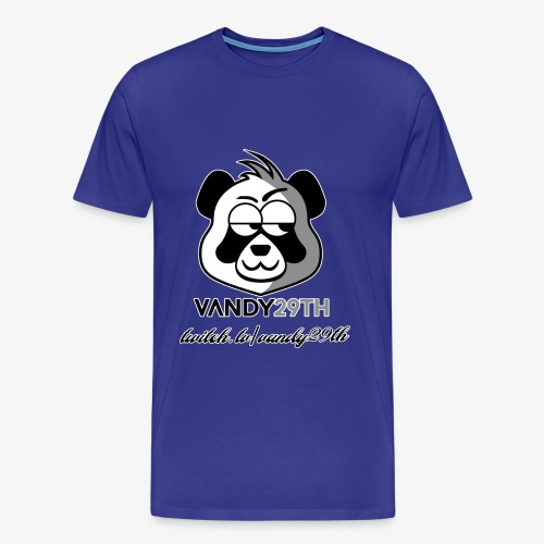 panda black - Men's Premium T-Shirt